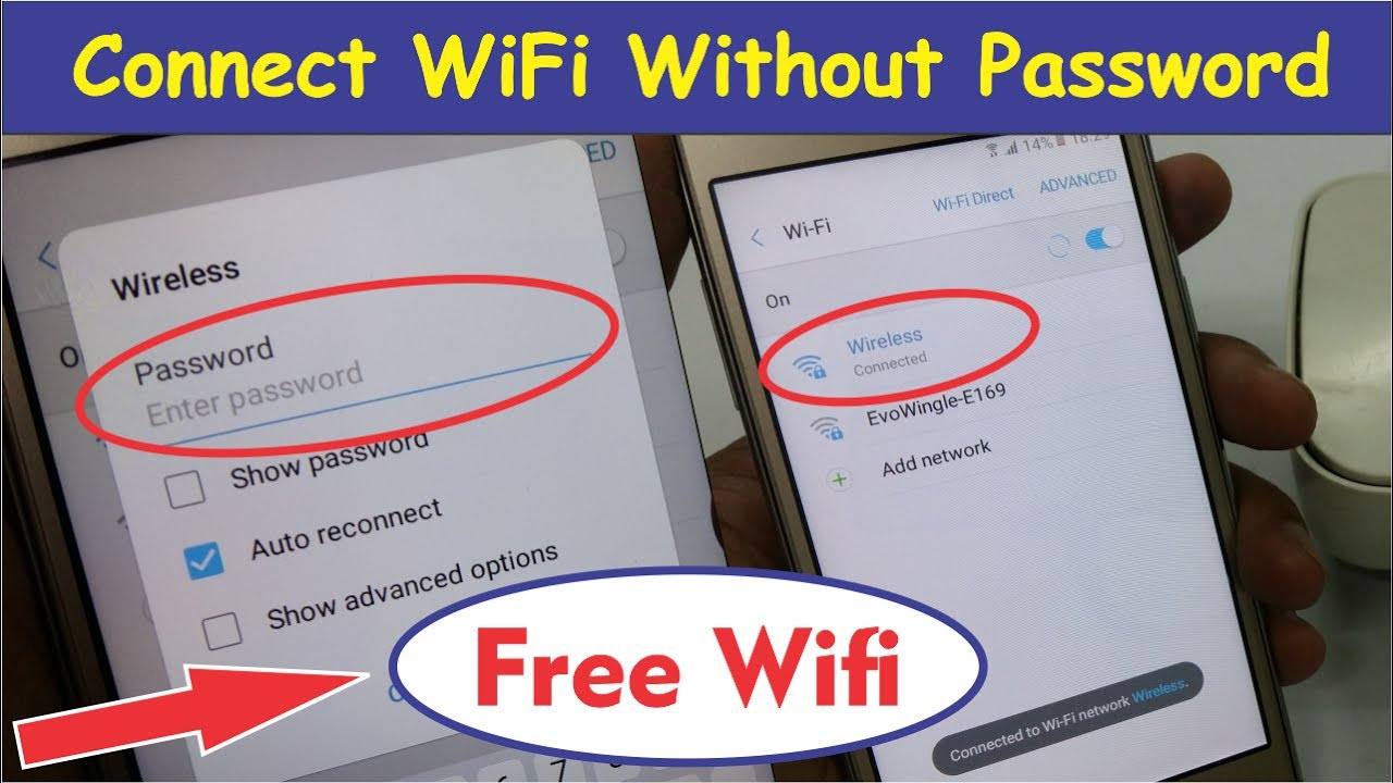 How to Connect any WiFi Without Password 100% Working
