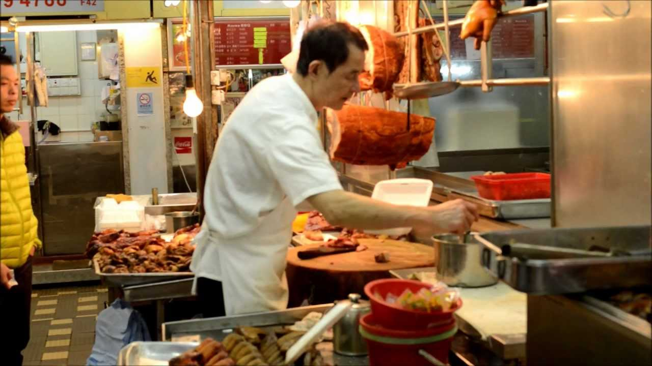 Hong Kong Street Food Preparation Of The Quot Lunch Box