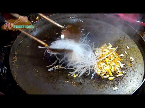Street Food Pad Thai Noodles in Phuket 2016