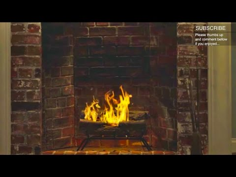 Yule Log with Indie Rock versions of Phil Spector's Christmas Classics (HD)