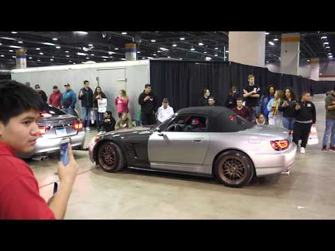 LOUD Cars Leaving Tuner Galleria Import Car Show Roll Out Video Chicago 2019 [4K]