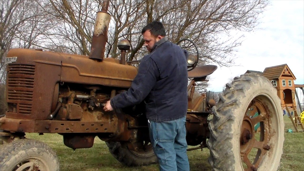 1948 farmall h carb cleaning