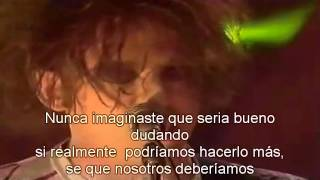 The Cure Mint Car live subtitulada