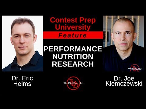 CONTEST PREP UNIVERSITY - FEATURE:  PERFORMANCE NUTRITION RESEARCH