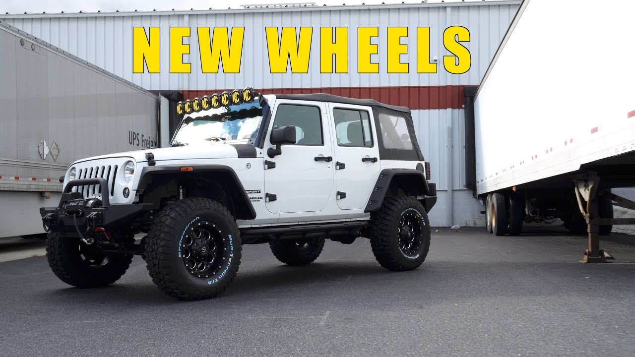 Jeep Wrangler Jk Jl Fuel Revolver Wheel And Tire Package