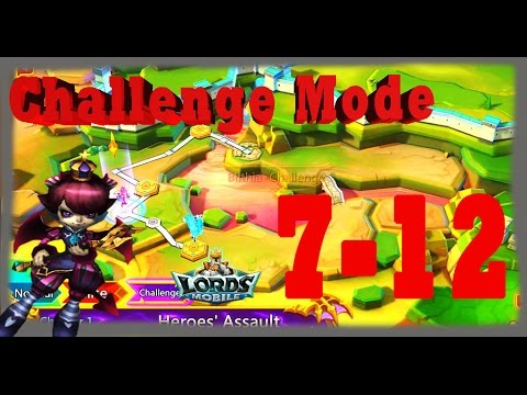 Lords Mobile Challenge Mode1 (7-12)