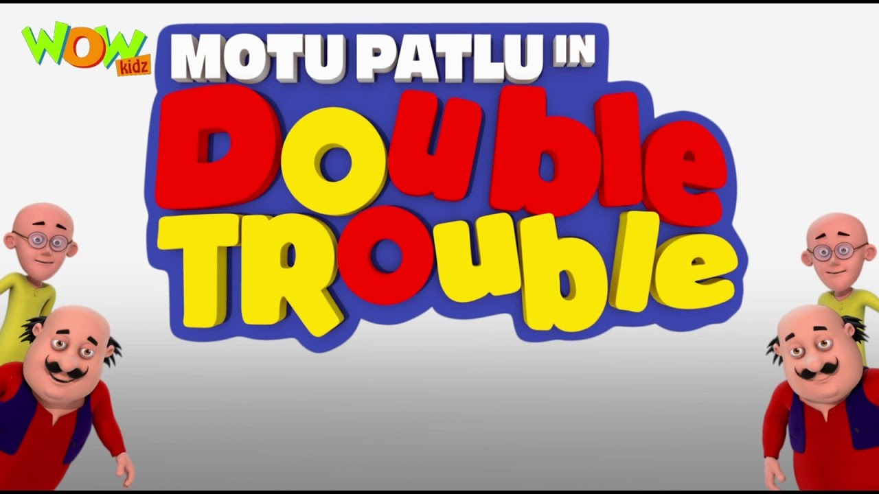 Motu Patlu In Double Trouble Movie English Spanish French