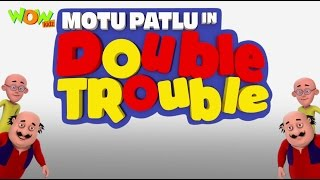 Repeat youtube video Motu Patlu In Double Trouble - Movie - English Subtitles!