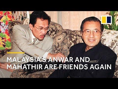 Malaysia's Anwar Ibrahim is free