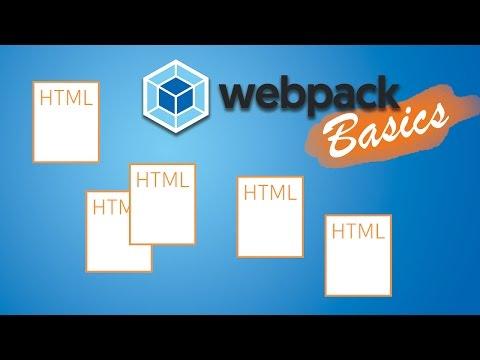 WEBPACK + MULTIPLE HTML FILES   Webpack 2 Basics Tutorial