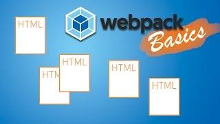 WEBPACK + MULTIPLE HTML FILES | Webpack 2 Basics Tutorial