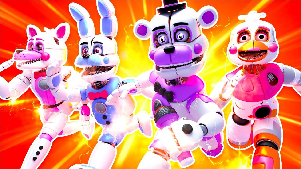 Funtime FNAF Super Powers | Minecraft Five Nights at Freddy's Roleplay
