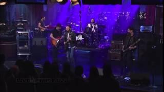 Kings Of Leon   Family Tree Live on Letterman