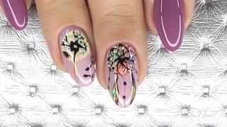 видео Натуральные цветы в стекле