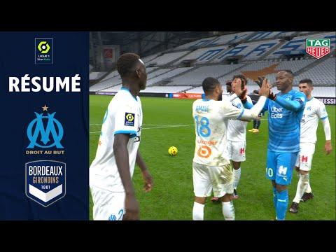 OLYMPIQUE DE MARSEILLE - FC GIRONDINS DE BORDEAUX (3 - 1) - Résumé - (OM - GdB) / 2020-2021