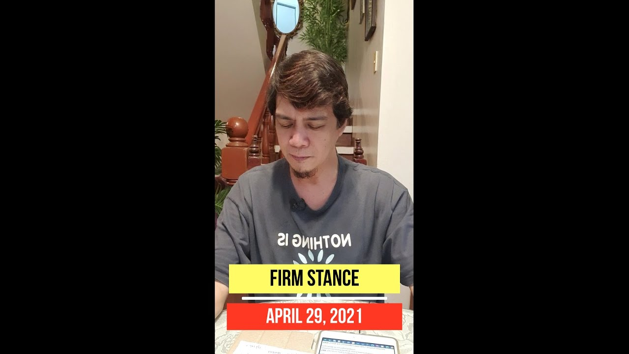 Download Amos 3:7  Part 2      APRIL 29, 2021     FIRM STANCE