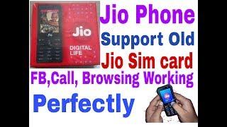 Old Jio sim work  perfectly on jio phone//hindi//by ghosh tech