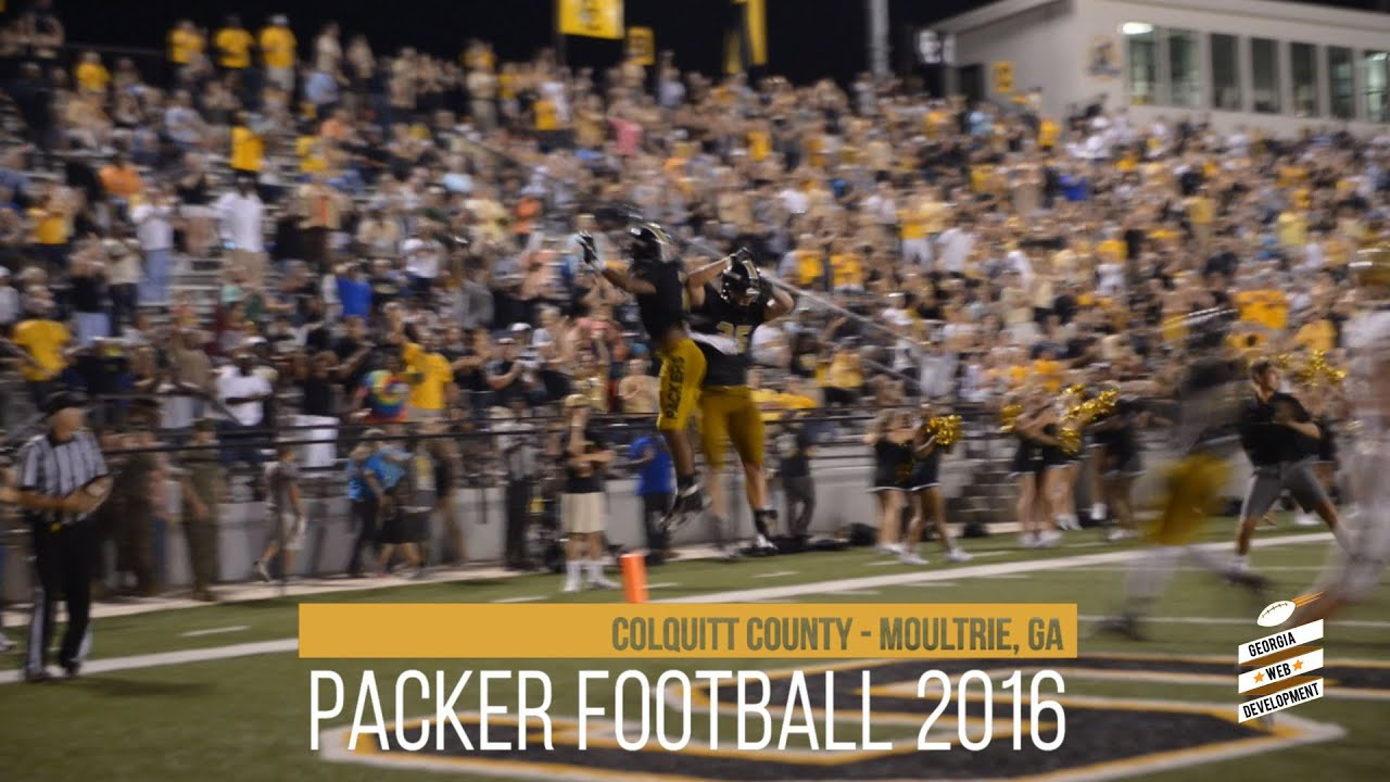 Colquitt County Packers vs  Brookwood Broncos 2016 Football Highlights