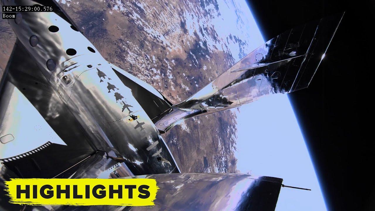 Космический корабль Virgin Galactic поднялся на высоту 90 километров. Космический туризм уже близко?