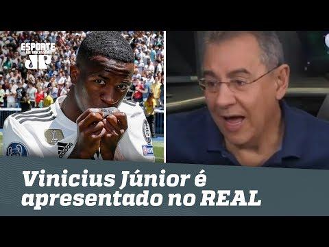 Vinicius Júnior é apresentado no REAL, e Flavio faz DURA crítica!