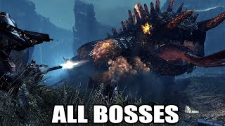 Lost Planet 2 - All Bosses (With Cutscenes) HD 1080p60 PC
