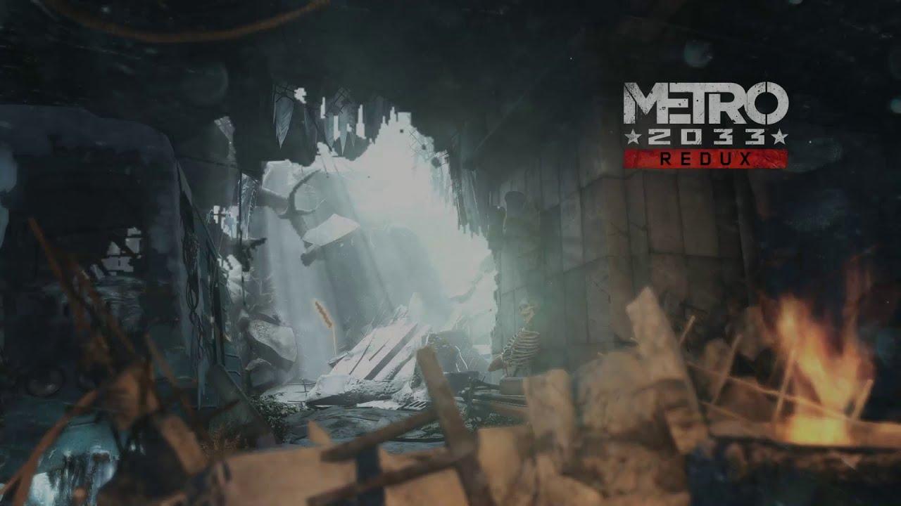 Metro 2033 Wallpaper Hd Metro 2033 Redux Good Bad Ending Youtube
