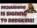 Paul Richardson to Sign with Washington Redskins! How much can he help Alex Smith?