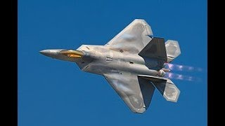 MOST FEARED US Air Force F-15 & F-22 Military Aircraft in Military Training Exercise in Hawaii