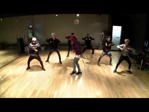 [Mirrored And Slowed 75%] IKON 'Rhythm Ta' Dance Practice - 아이콘 '리듬 타'