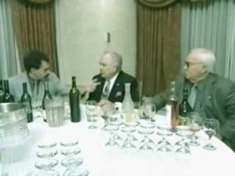 Borat wine tasting