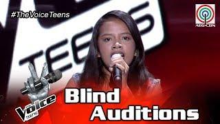 The Voice Teens Philippines Blind Audition: Jorine Dela Cruz - Stupid Love