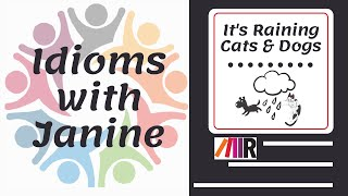Idioms with Janine: It's Raining Cats & Dogs