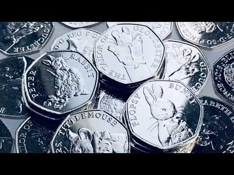 50p COIN HUNT | 1998 European Union - 2019 Sherlock Holmes | The Royal Mint Great British Coin Hunt