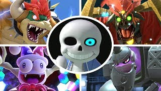 Sans vs All Bosses in Super Smash Bros Ultimate