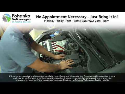 Pohanka VW Service Special - Alignment Discount Service! Capitol Heights MD