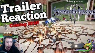 COMING 2018! Kingdom Hearts 3 D23 Trailer Reaction - TOY STORY  HYPE!