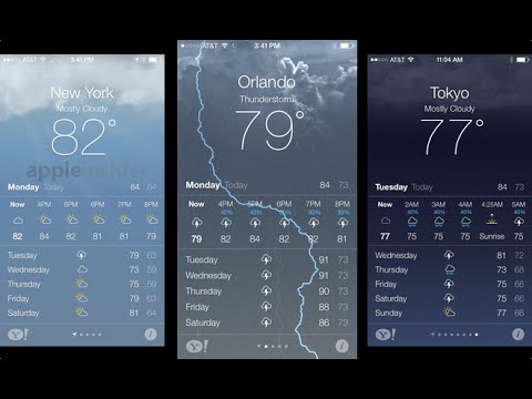 Whats Wrong With The Iphone Weather 2015 App Fault Problem