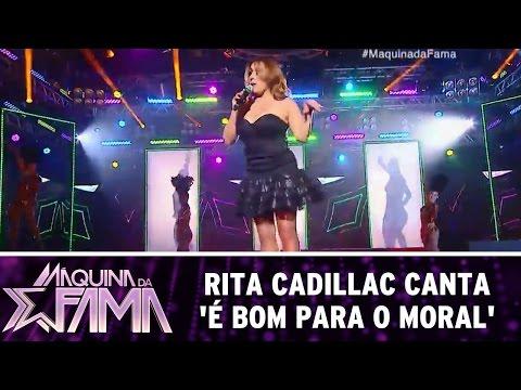 Máquina da Fama (18/07/16) Rita Cadillac canta 'É bom Para o Moral'