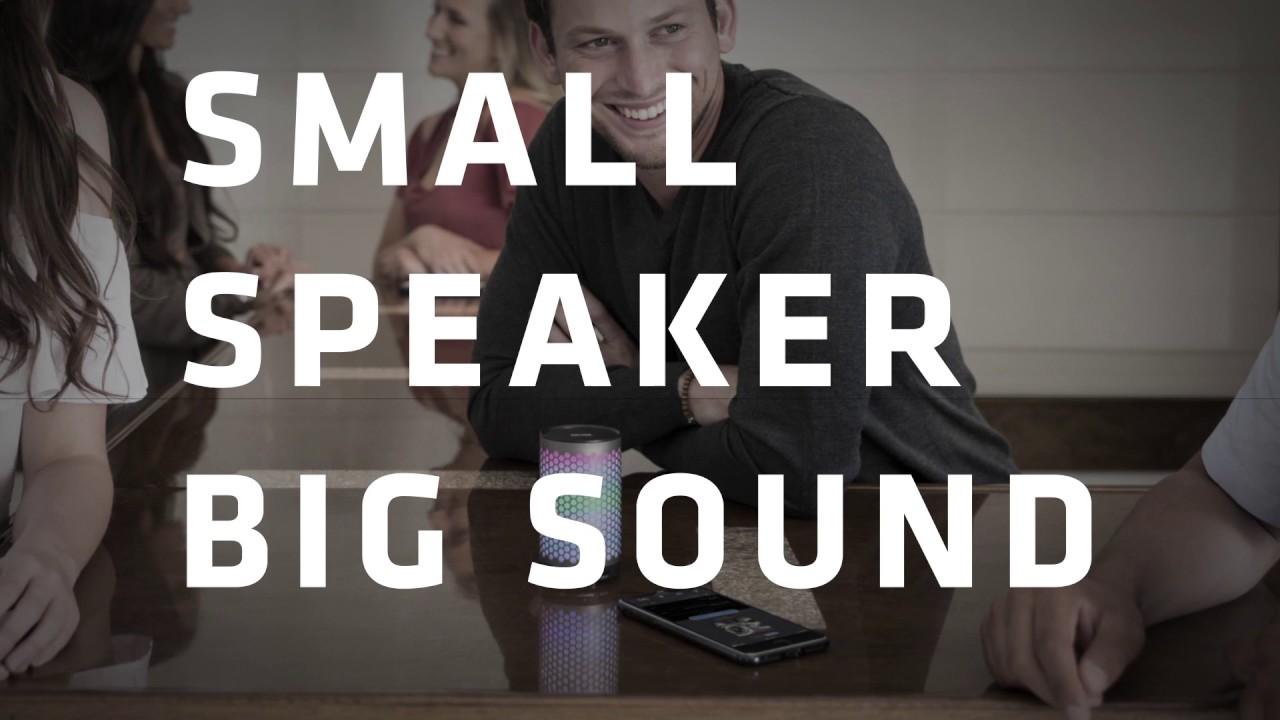 808 Audio : Portable Bluetooth Speakers : Light Show Speakers : SP435