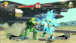 SUPER STREET FIGHTER IV (PS3) - KEN (HARDEST)