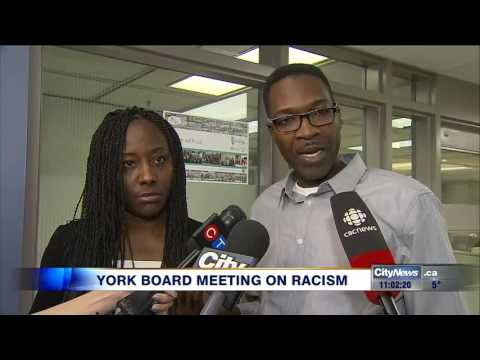 Video: York Region District School Board meeting on racism
