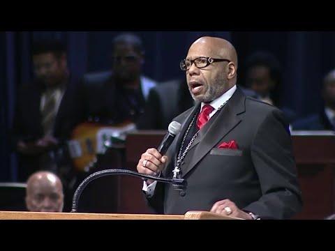 Rev. Jasper Williams Jr. delivers eulogy at Aretha Franklin's funeral Mp3