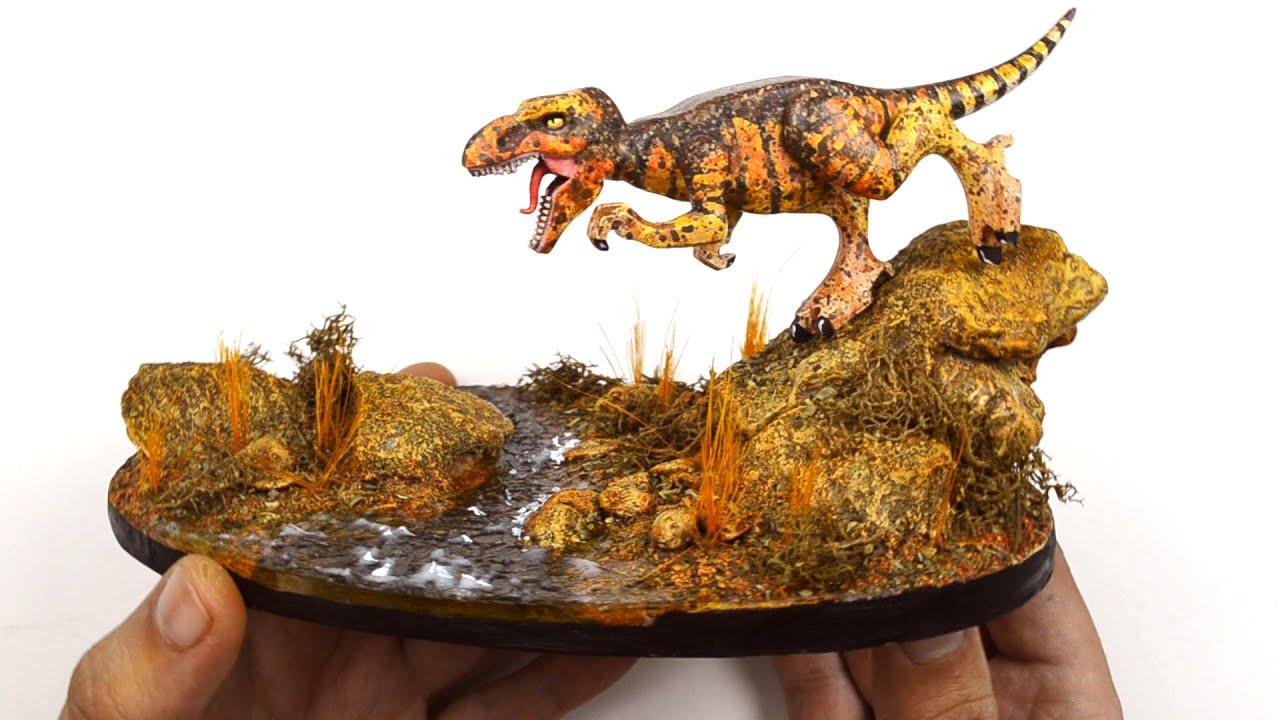 Как самому переделать  Лего-динозавра и сделать подставку для него