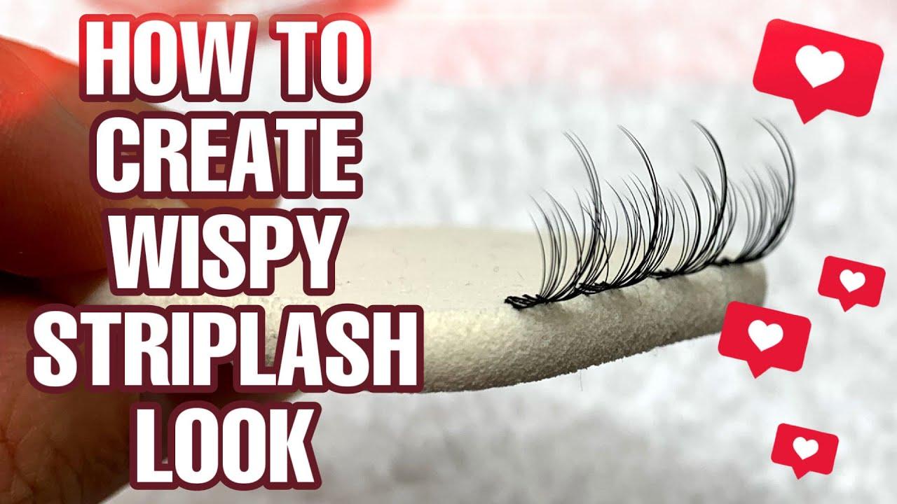 Download Eyelash Extensions: how to create wispy/ kim k style/ striplash look for beginners