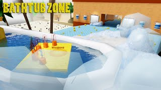 Content Update!! Bathtub Zone | ROBLOX Unboxing Simulator
