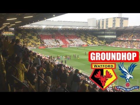 Groundhop Watford VS Crystal Palace /Vicarage Road