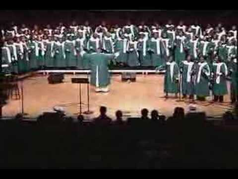 Everybody Ought To Know (who Jesus is) UAB Gospel Choir