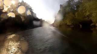 etowah river downstream towards lake allatoona georgia on yamaha gp800