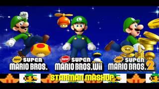 New Super Mario Bros. 2 Music - Starman Mashup