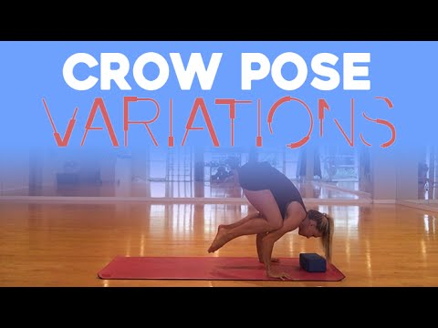 yoga crow pose variations  beyogi  youtube
